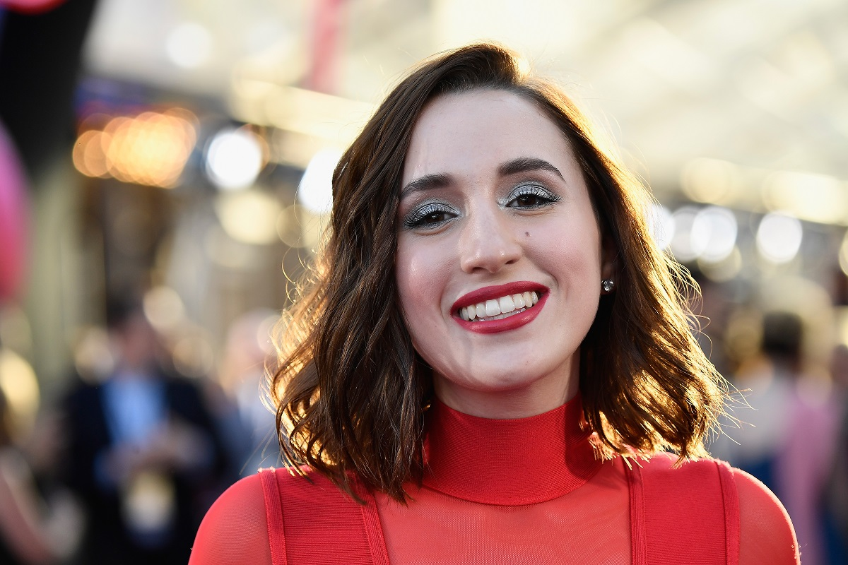 Harley Quinn Smith arrives at the premiere of Disney and Marvel's 'Guardians Of The Galaxy Vol. 2' on April 19, 2017, in Hollywood, California.