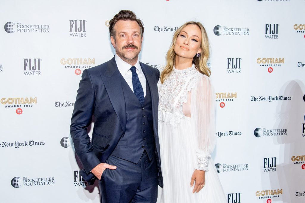 Jason Sudeikis and Olivia Wilde attend the 2019 IFP Gotham Awards on December 02, 2019, in New York City.