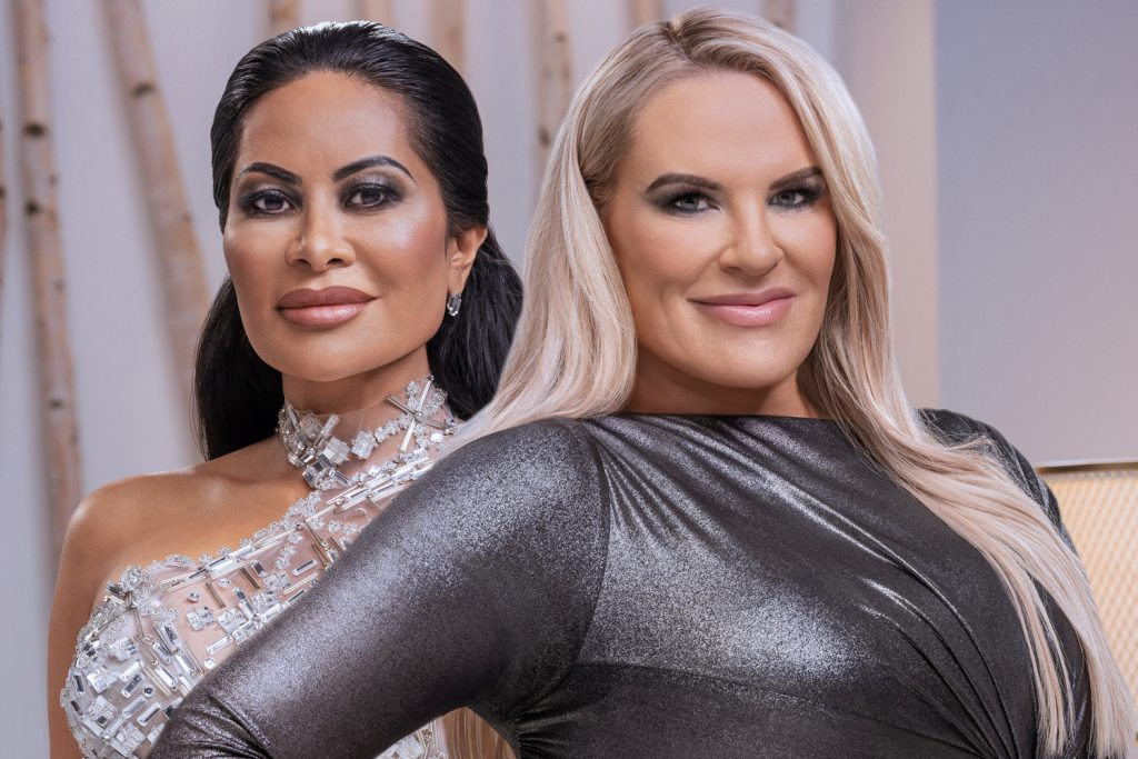 Jen Shah and Heather Gay in their 'RHOSLC' Season 1 official photos