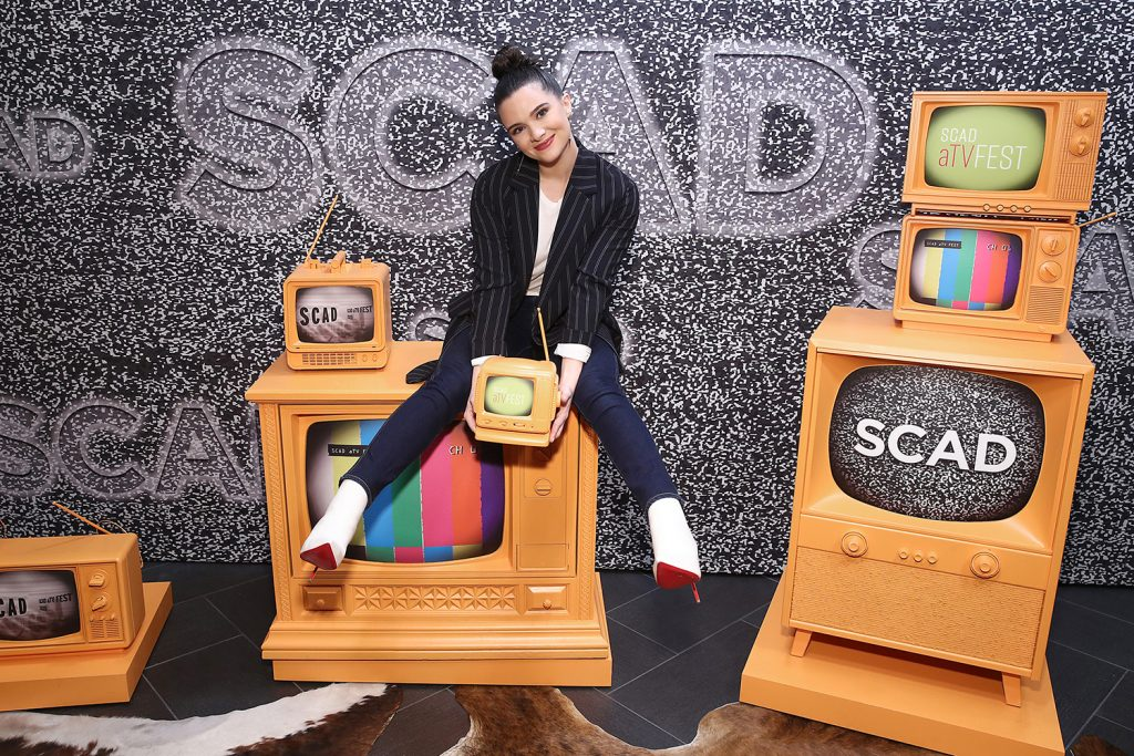 Katie Stevens attends the SCAD aTV Fest in 2020.