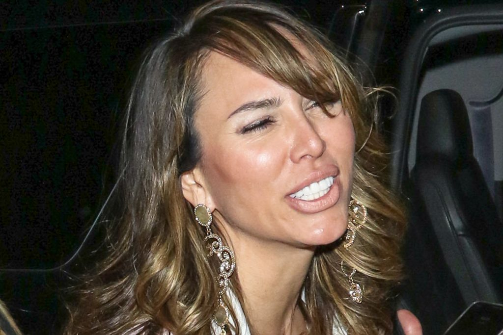 Kelly Dodd in a Los Angeles sighting by paparazzi
