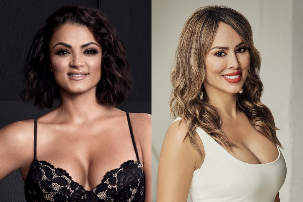 Golnesa 'GG' Gharachedaghi and Kelly Dodd on 'Shahs of Sunset' and 'RHOC,' respectively
