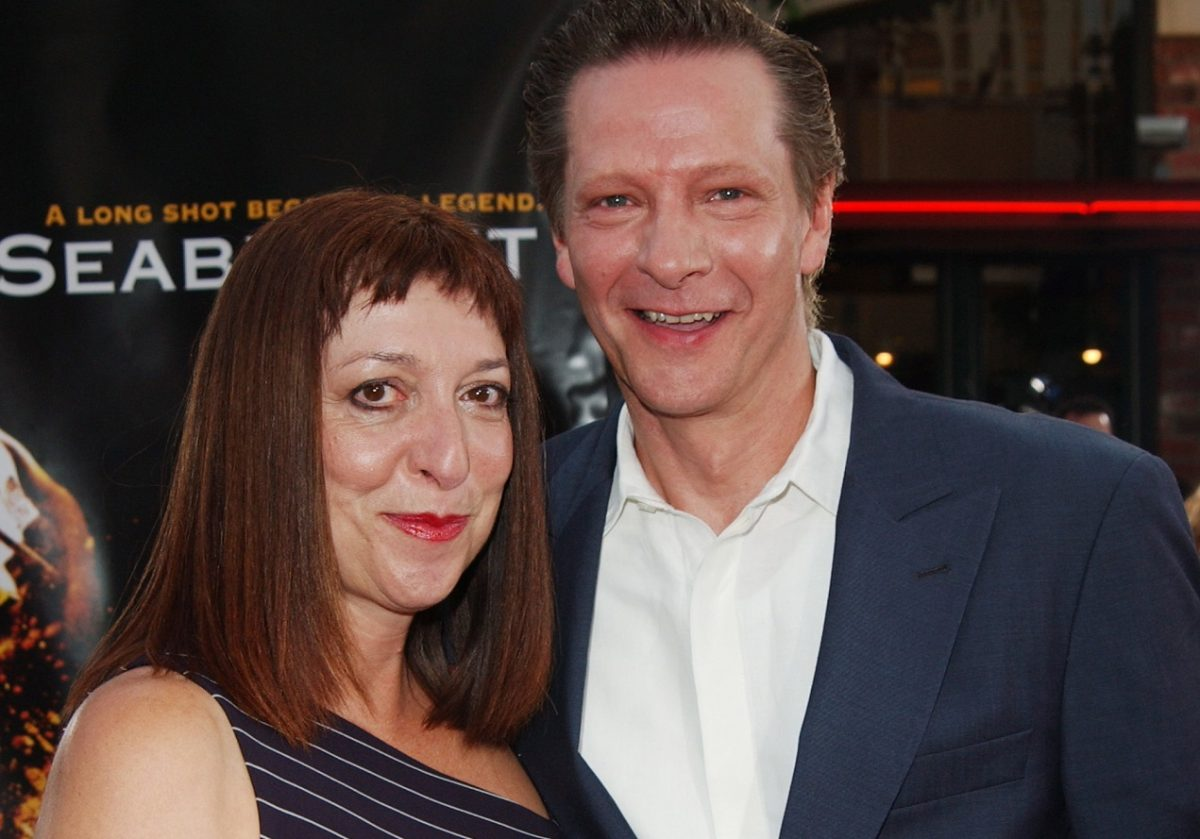 Marianne Leone and husband Chris Cooper at a film premiere in the early '00s
