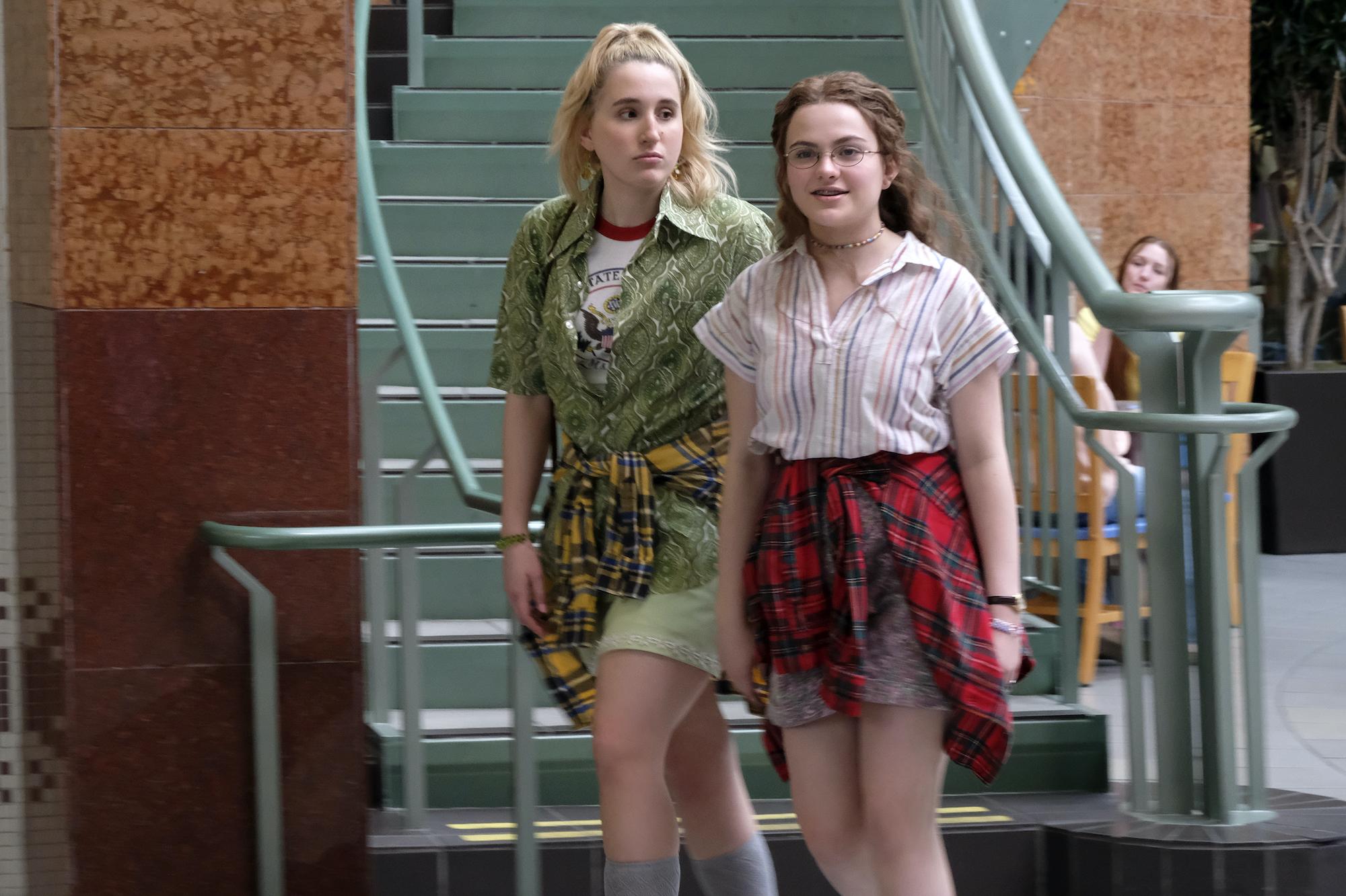 "'CRUEL SUMMER' episode 6, ""An Ocean Inside Me"" Harley Quinn Smith as Mallory and Chiara Aurelia as Jeanette Turner"