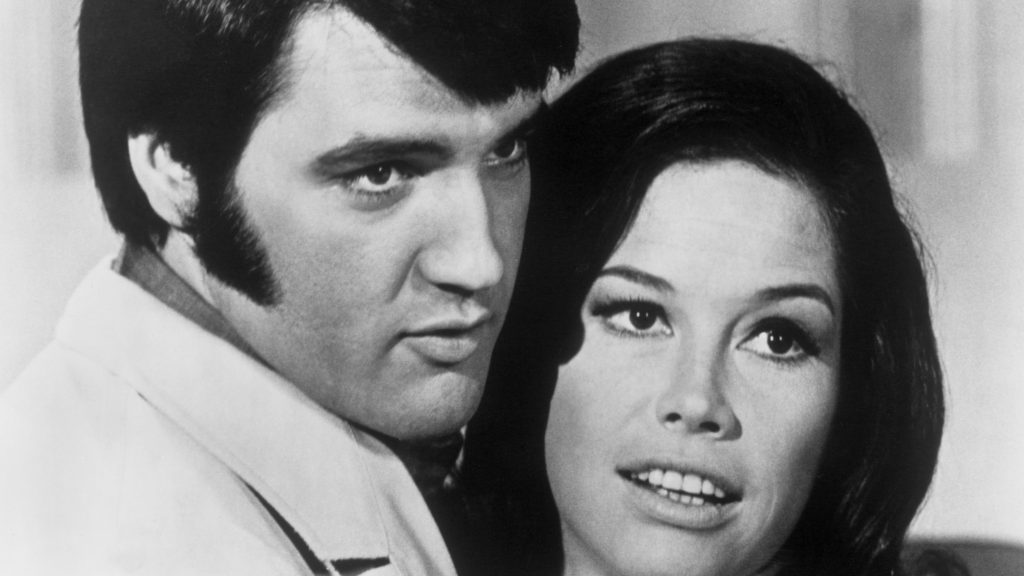Elvis Presley with Mary Tyler Moore