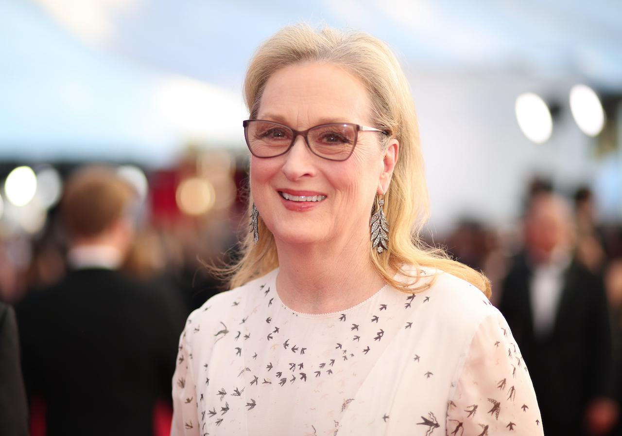 Meryl Streep attends The 23rd Annual Screen Actors Guild Awards at The Shrine Auditorium