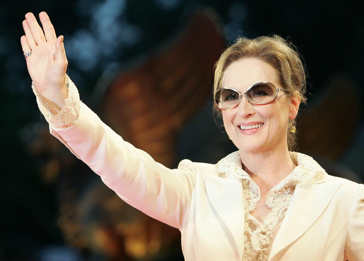 Meryl Streep arrives for the screening of