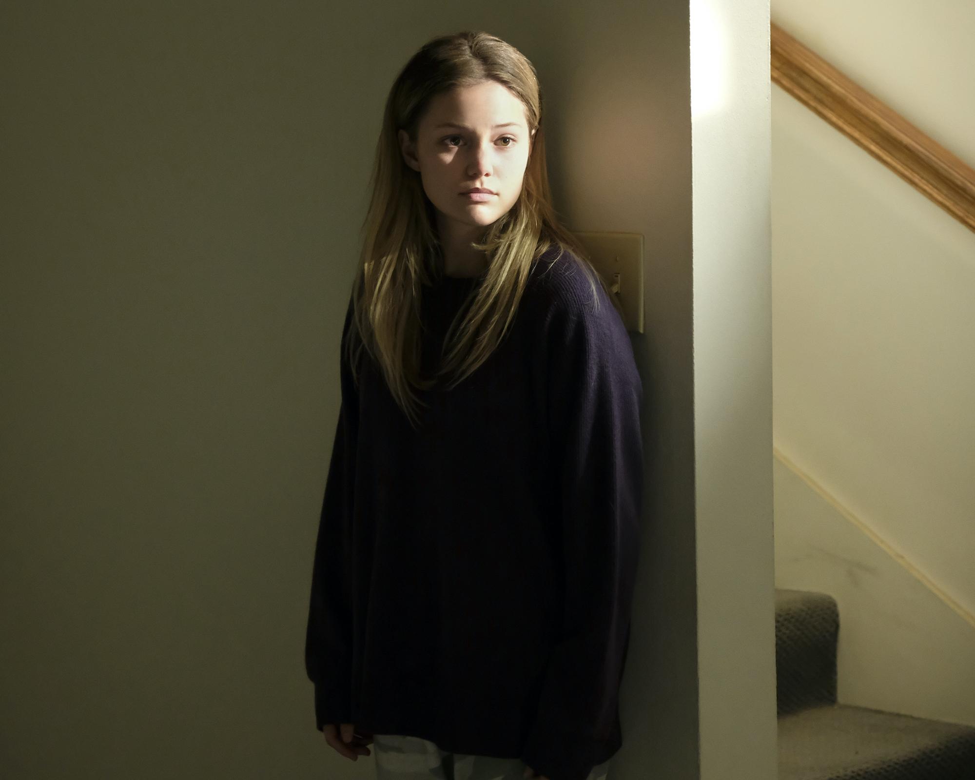 "'CRUEL SUMMER' episode 4 ""You Don't Hunt, You Don't Eat"": Olivia Holt as Kate Wallis"