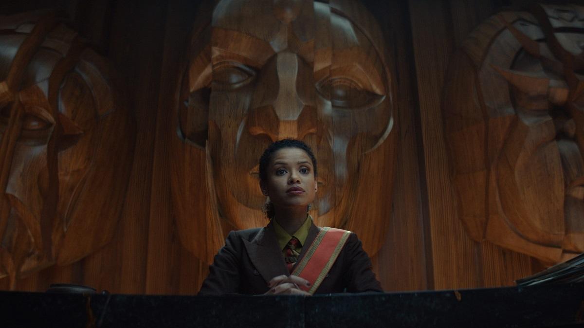 Gugu Mbatha-Raw as Judge Ravonna Renslayer in 'Loki'