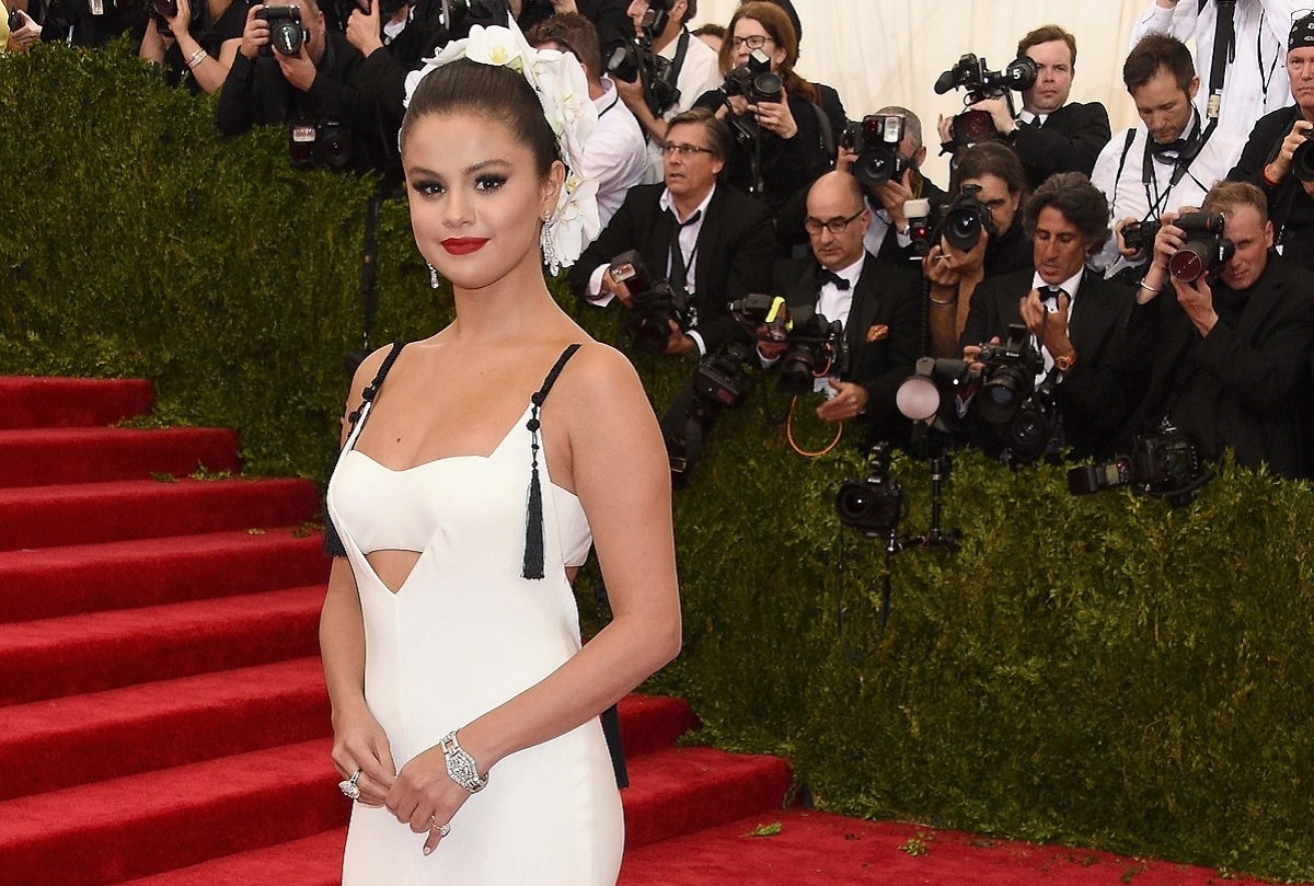 Selena Gomez attends the 'China: Through The Looking Glass' Costume Institute Benefit Gala at the Metropolitan Museum of Art on May 4, 2015, in New York City.
