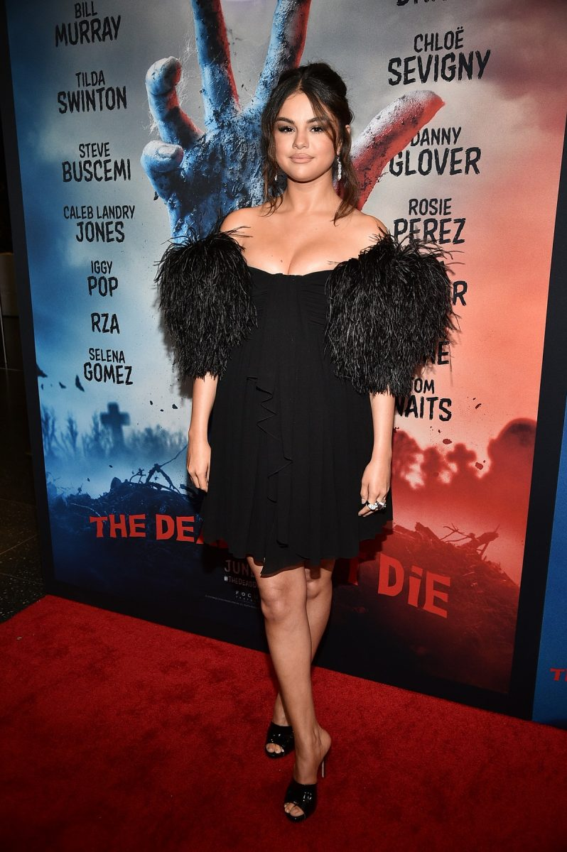 Selena Gomez attends 'The Dead Don't Die' New York Premiere at Museum of Modern Art on June 10, 2019, in New York City.