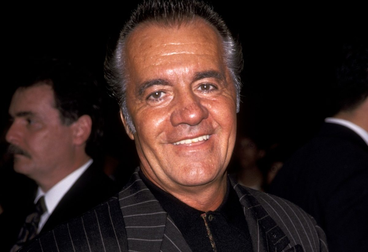 Tony Sirico smiles for the camera at a movie premiere.