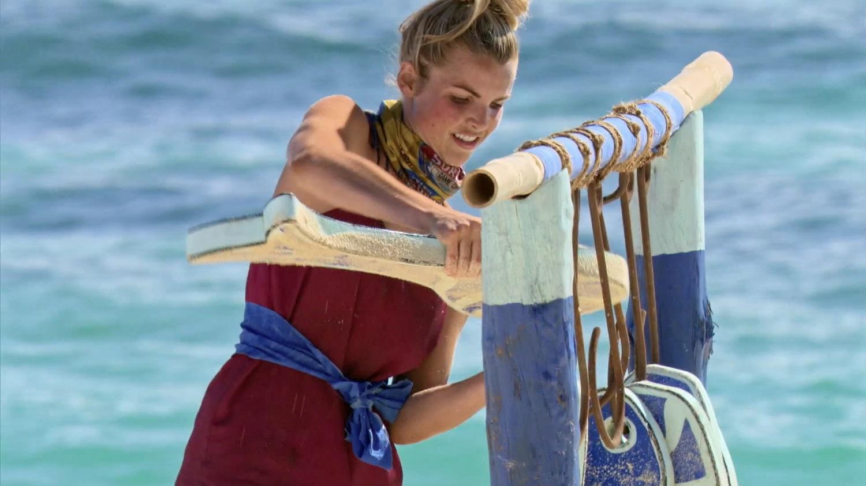 Andrea Boehlke on Survivor