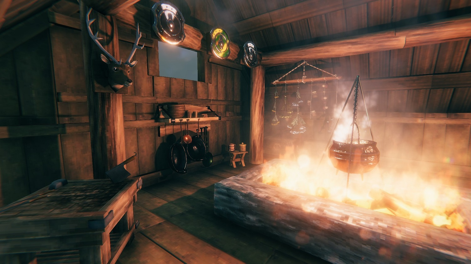 The Valheim Hearth and Home update will include new cooking stations, courtesy of Iron Gate