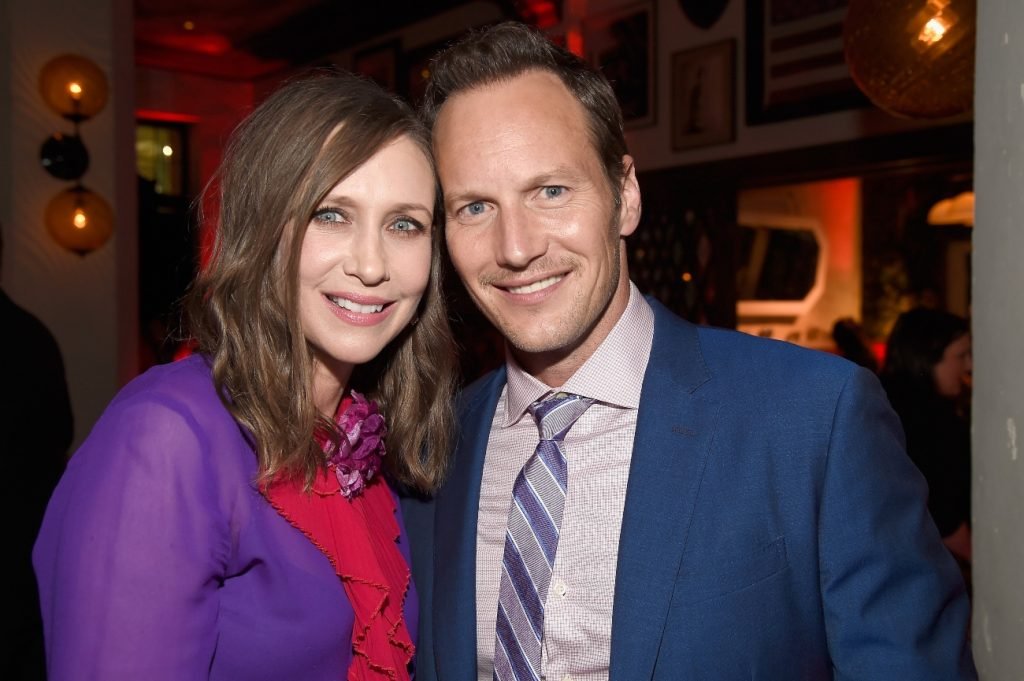 Vera Farmiga and Patrick Wilson attend 'The Conjuring 2' after party during the 2016 Los Angeles Film Festival at the Hollywood Roosevelt Hotel