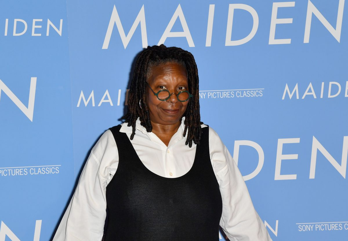 Whoopi Goldberg at an event in 2019