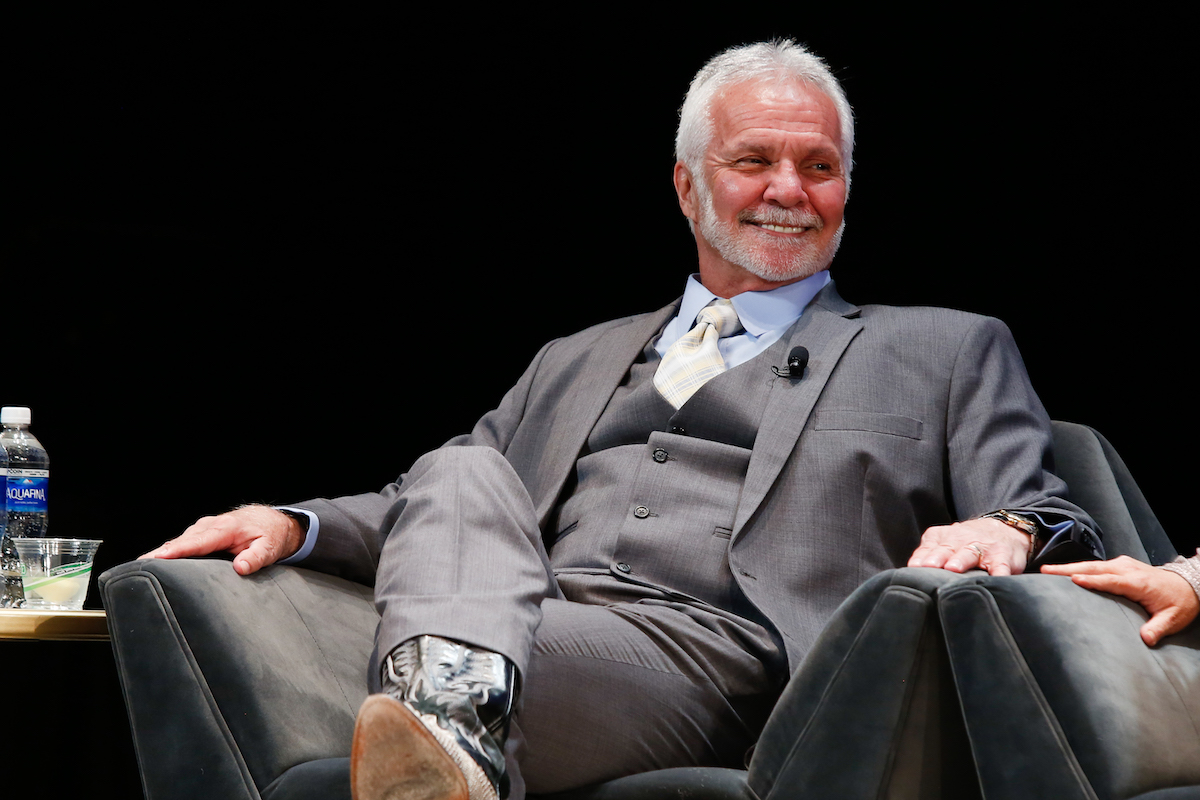 Captain Lee Rosbach from Below Deck during BravoCon 2019