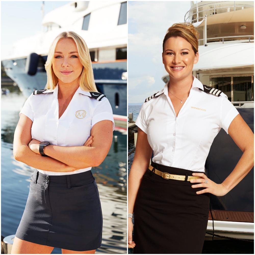 Below Deck Mediterranean's Courtney Veale and Hannah Ferrier