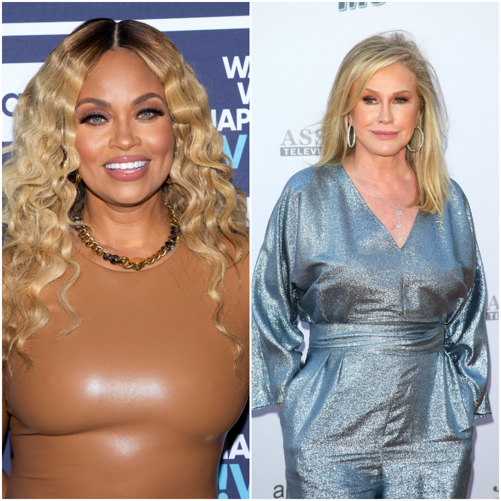 Gizelle Bryant from Chat Room and The Real Housewives of Potomac and Kathy Hilton from The Real Housewives of Beverly Hills