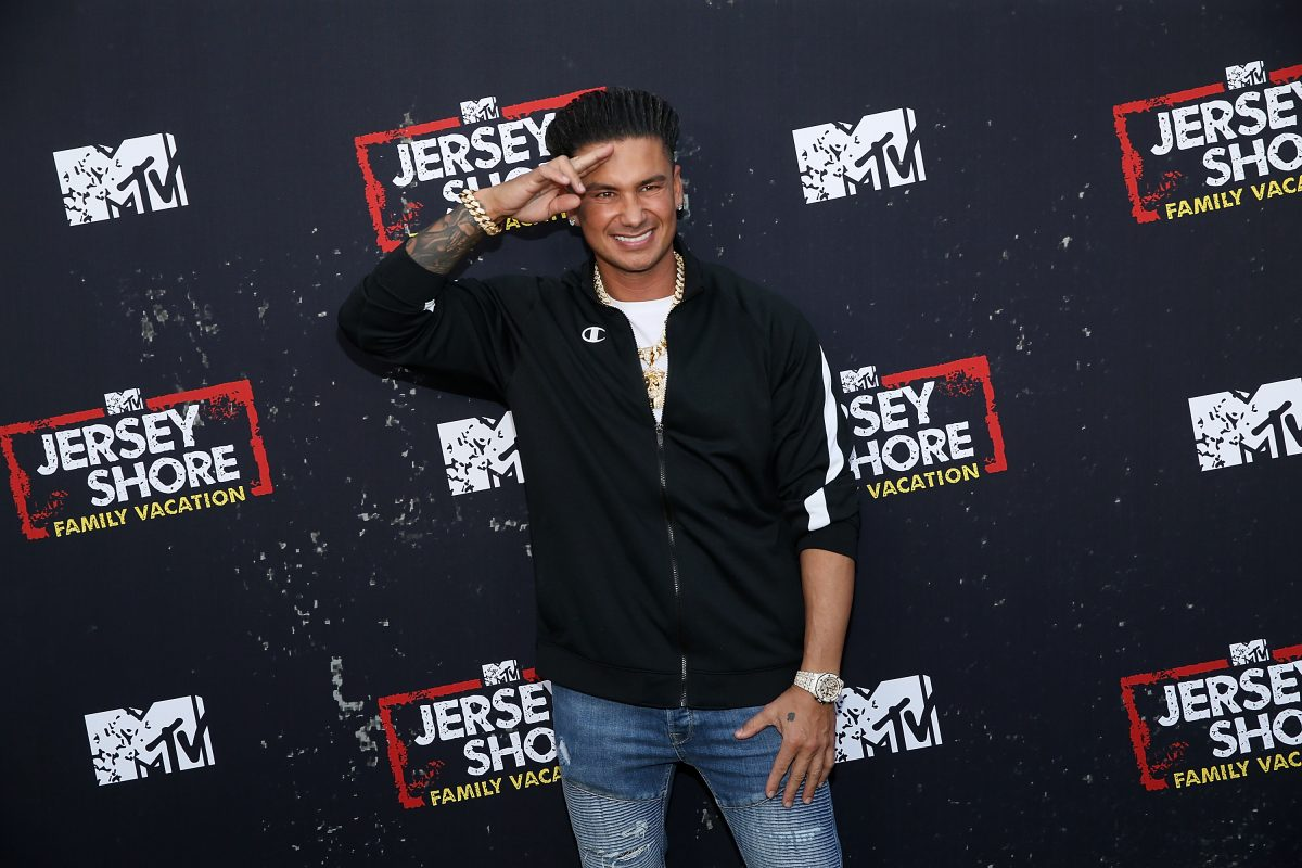 DJ Pauly D from 'Jersey Shore: Family Vacation' at the global premiere
