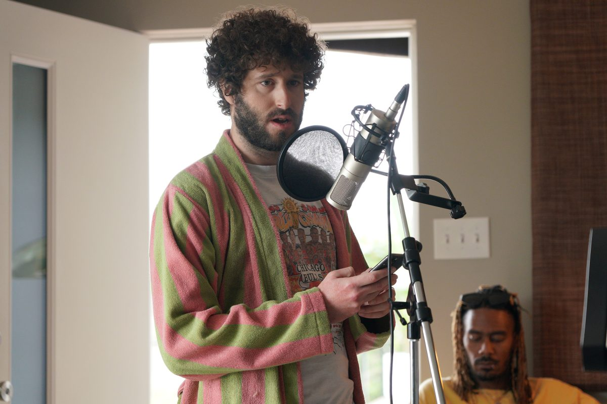 Dave 'Lil Dicky' Burd as Dave, GaTa as 'GaTa' in 'Dave' Season 2, Episode 6 'Somebody Date Me'