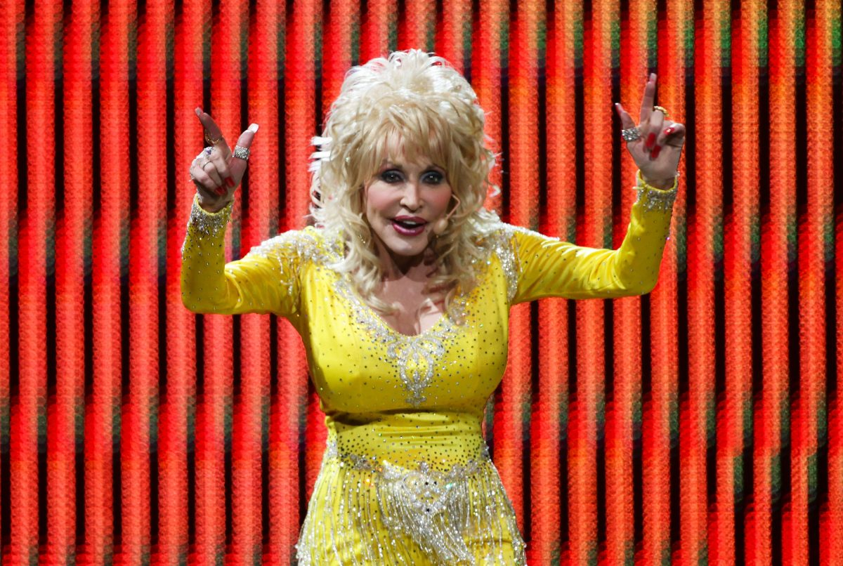 Dolly Parton performs live on stage at Allphones Arena on November 15, 2011 in Sydney, Australia.