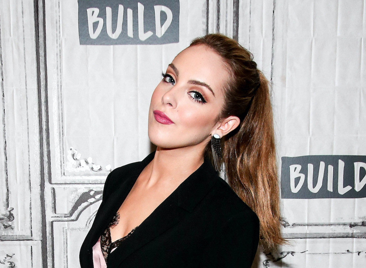 Elizabeth Gillies from Dynasty at Build Studio in 2017
