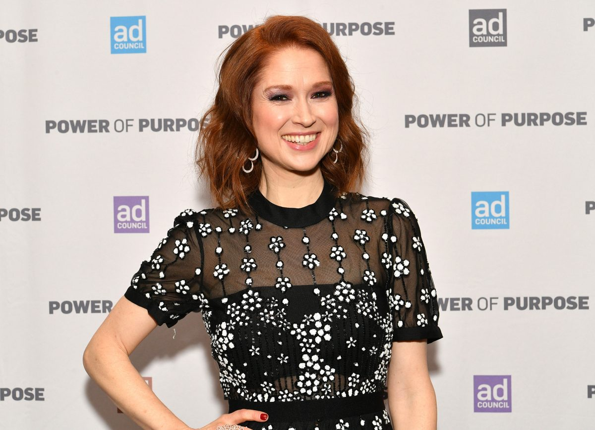 Ellie Kemper smiles for cameras as she attends the 2019 Ad Council Dinner on December 05, 2019 in New York City