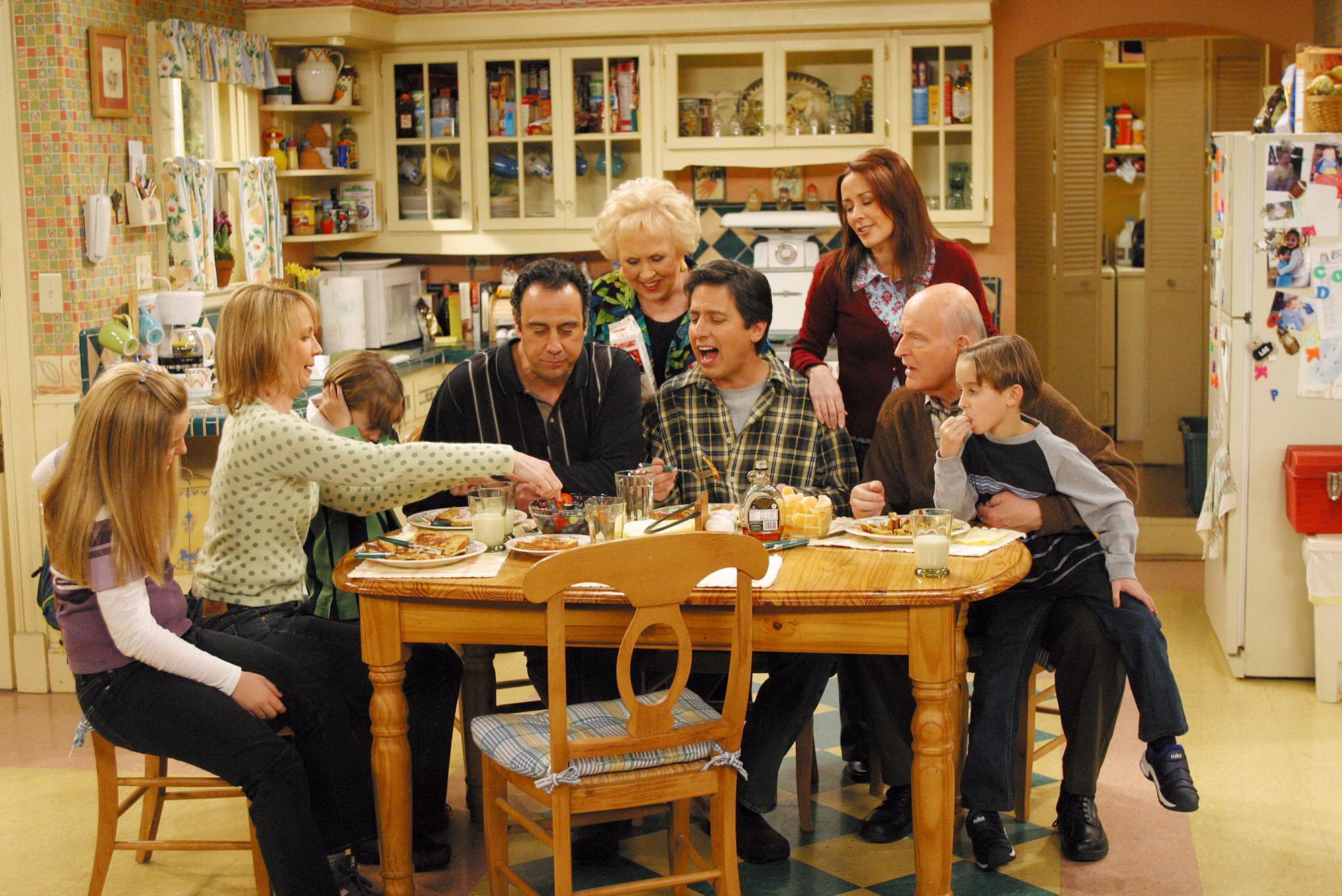 A scene from the CBS comedy 'Everybody Loves Raymond'