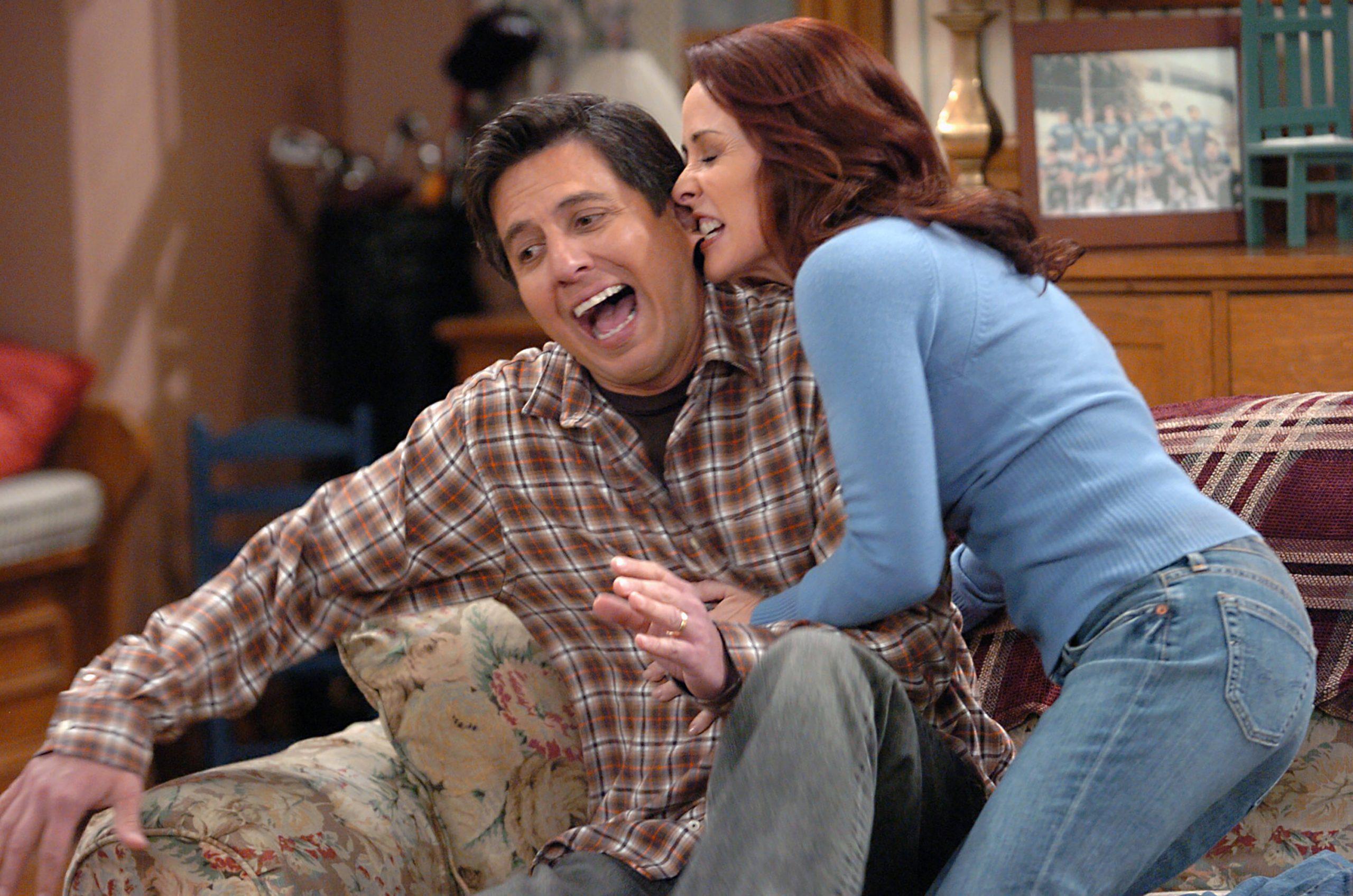 Patricia Heaton, right, in a scene with Ray Romano from 'Everybody Loves Raymond'