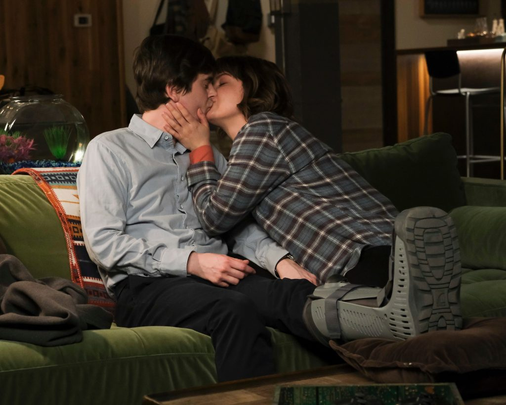 Freddie Highmore and Paige Spara on 'The Good Doctor'