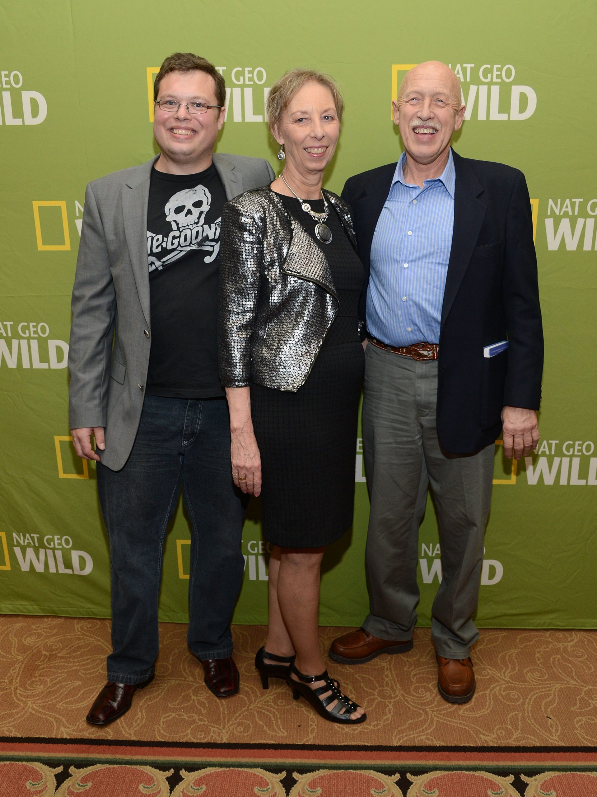 The Pol family: Charles Pol, Diane Pol, and Dr. Jan Pol of 'The Incredible Dr. Pol'