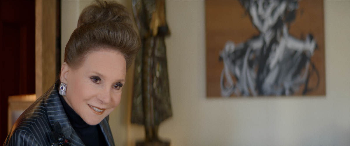 Cindy Adams in the Showtime docuseries 'Gossip'