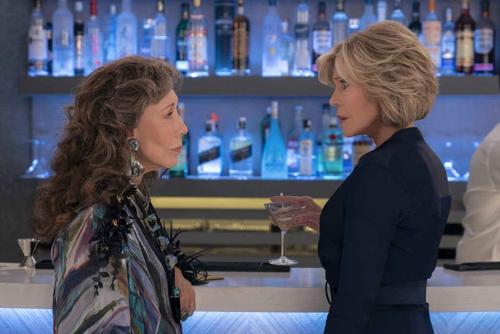 Lily Tomlin and Jane Fonda appear in season 6 of 'Grace and Frankie'