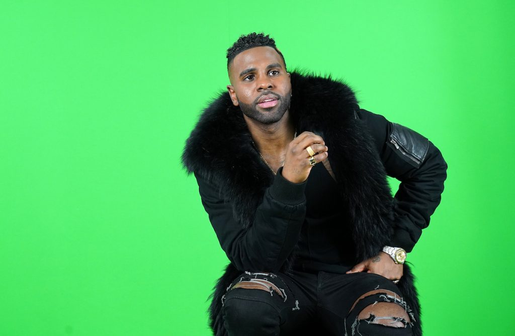 Jason Derulo doing press for CATS