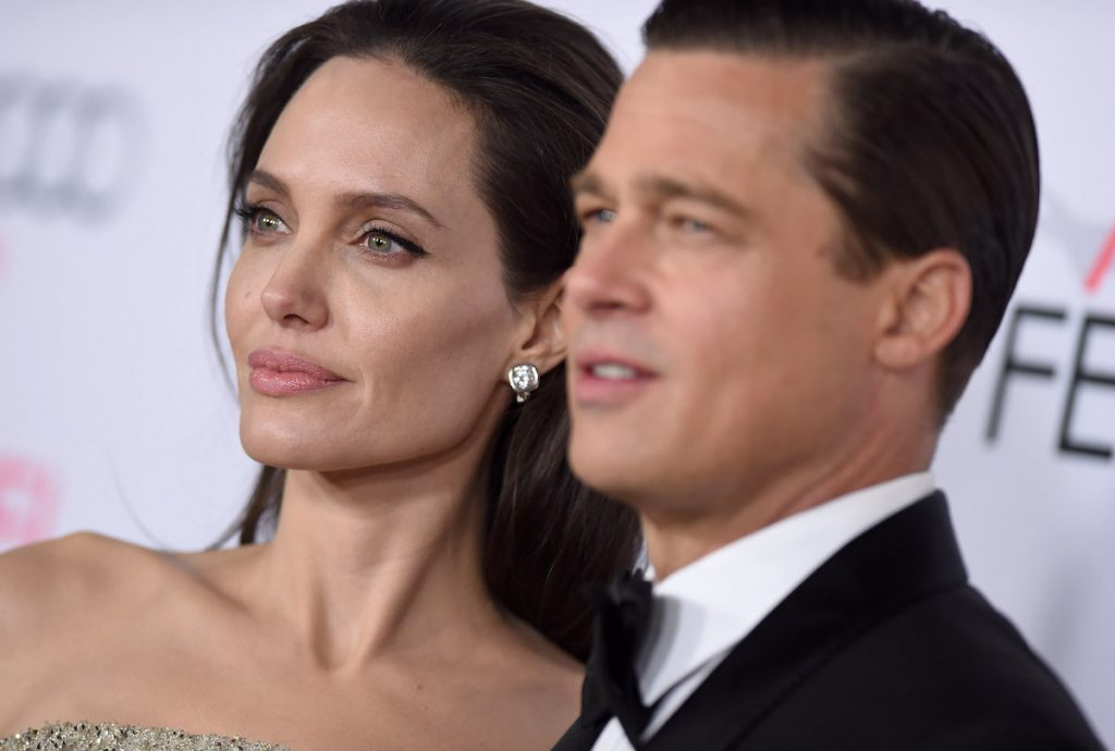 Pitt and Jolie Arrival at AFI Fest Gala in 2015