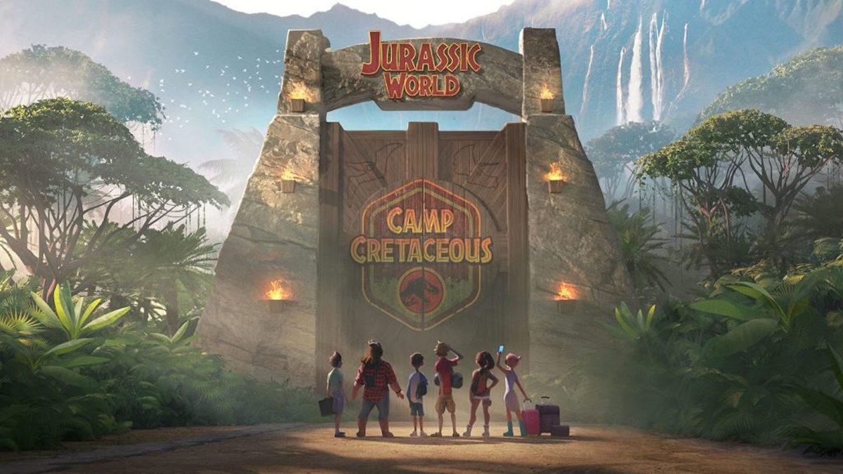 'Jurassic World: Camp Cretaceous' poster art