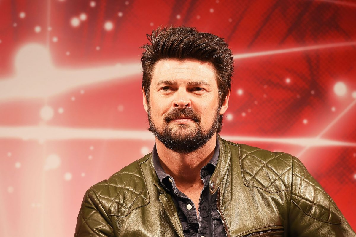 Karl Urban attends the opening day of Tokyo Comic Con