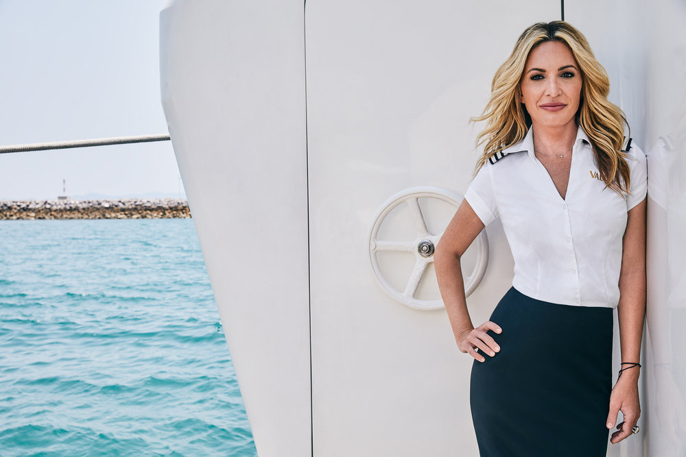 Below Deck's Kate Chastain from Bravo's Chat Room