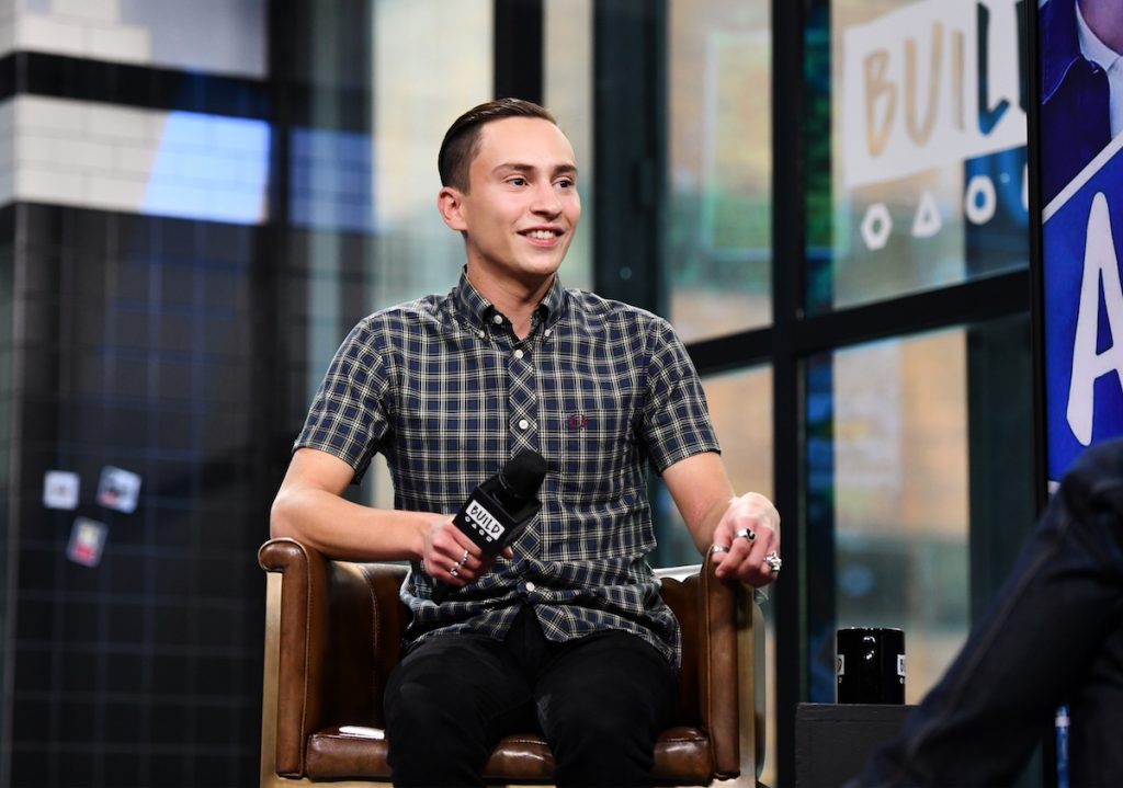 Keir Gilchrist visits Build Series to discuss 'Atypical' at Build Studio on September 19, 2018 in New York City.