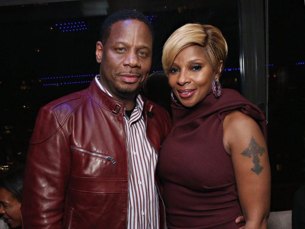 Mary J. Blige and Kendu Isaacs together