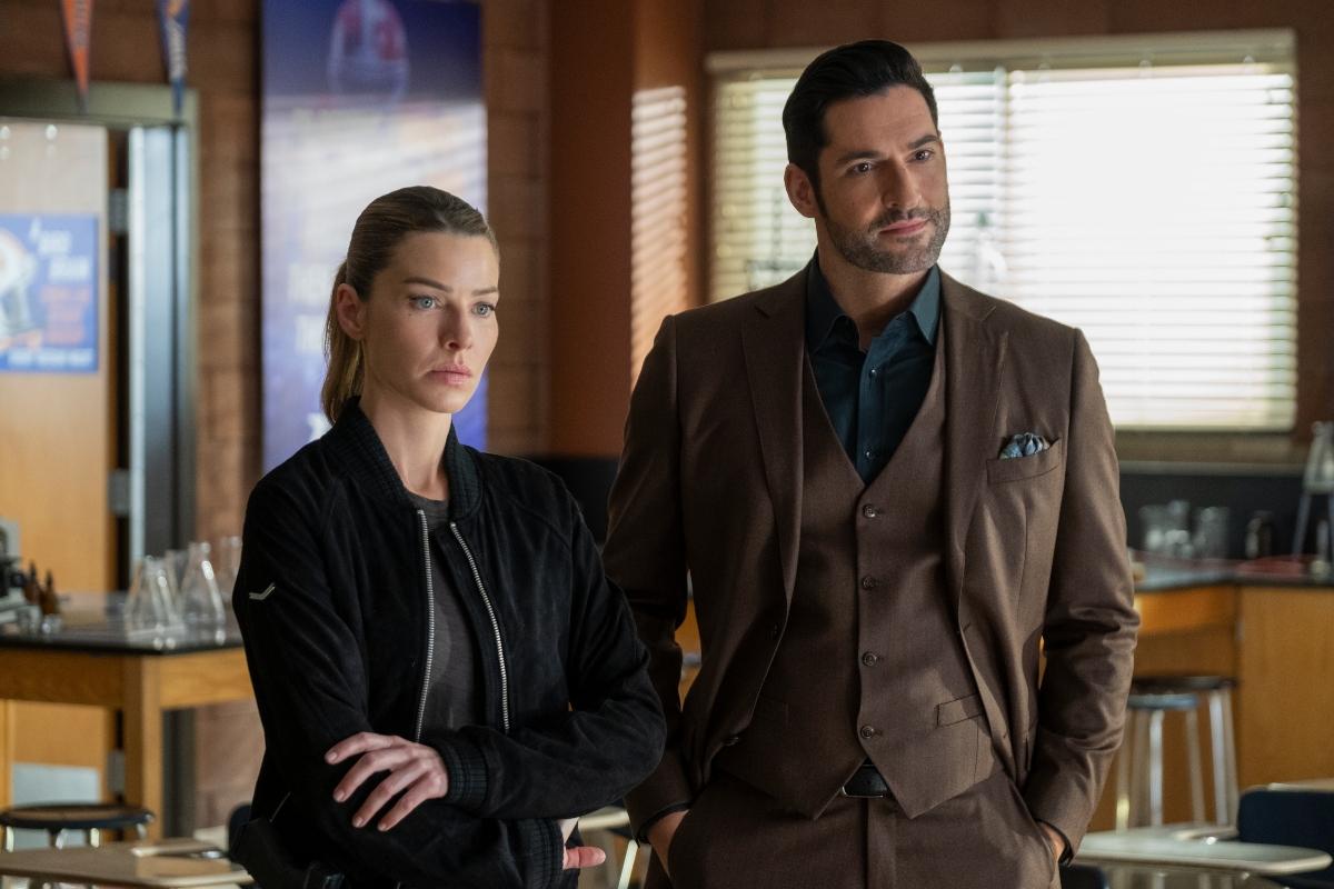 'Lucifer' Season 5 Episode 11 with Lauren German and Tom Ellis