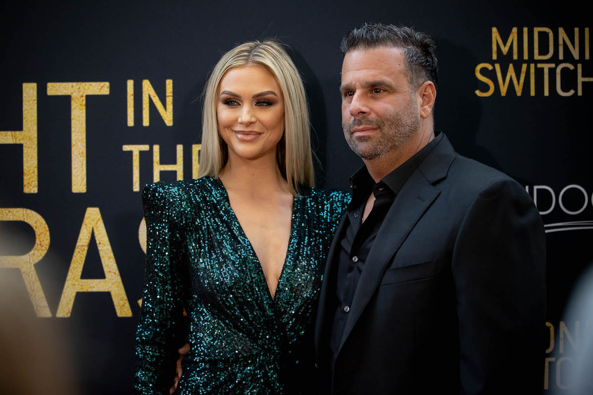 Lala Kent and Randall Emmett at the Midnight in the Switchgrass premiere