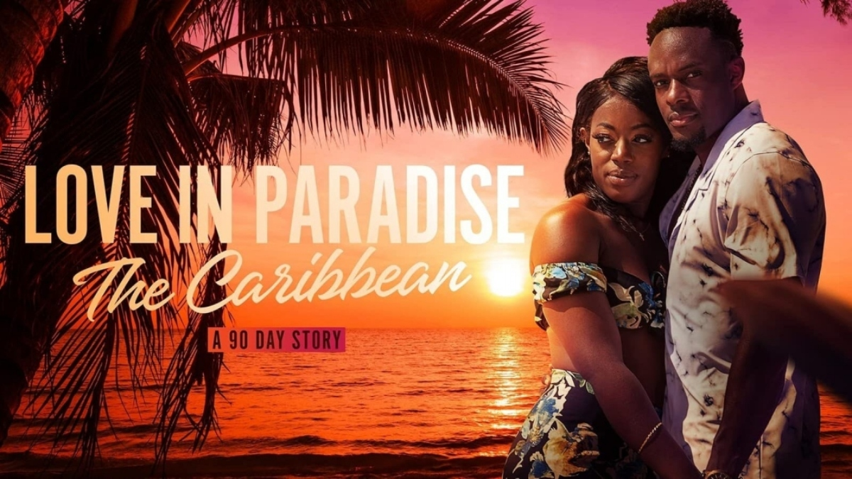 Poster for 'Love in Paradise: The Caribbean, A 90 Day Story'