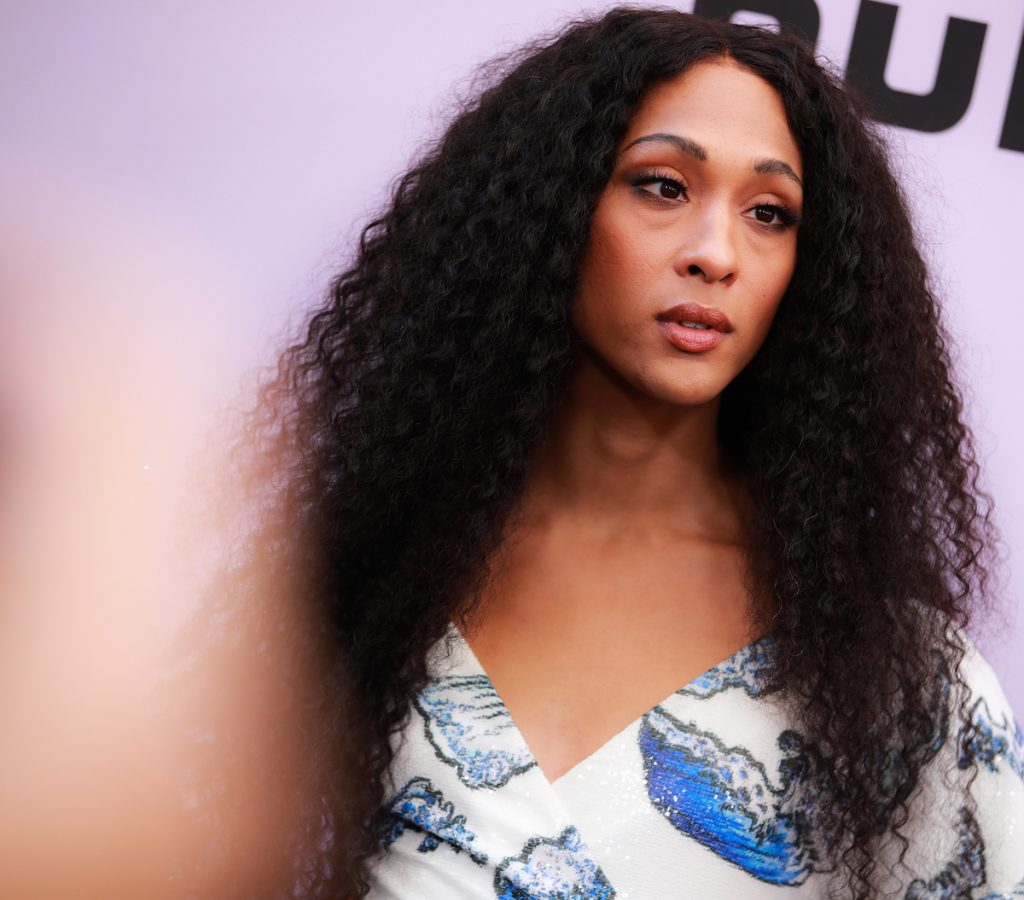 Mj Rodriguez on the red carpet