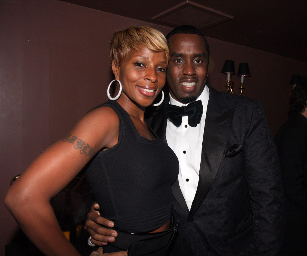 """Mary J. Blige and Sean """"Diddy"""" Combs"""