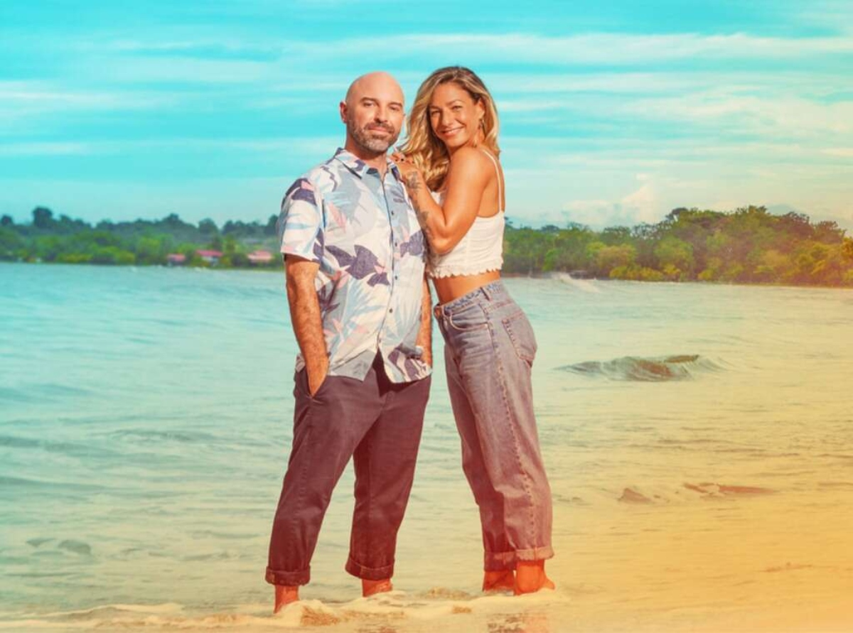 Mark and Key on 'Love in Paradise: The Caribbean, a 90 Day Story' | discovery+