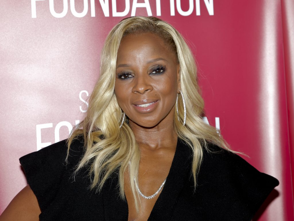 Mary J. Blige on the red carpet