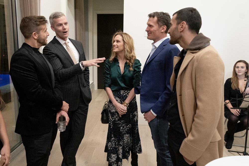 Million Dollar Listing New York's Tyler Whitman, Ryan Serhant, Kirsten Jordan, Steve Gold