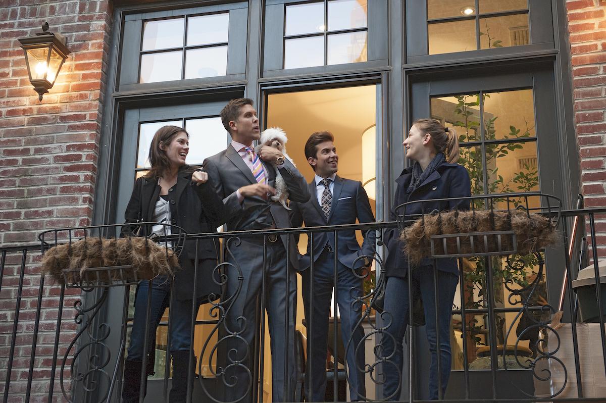Million Dollar Listing New York brokers Fredrick Eklund, Luis D. Ortiz meet with clients